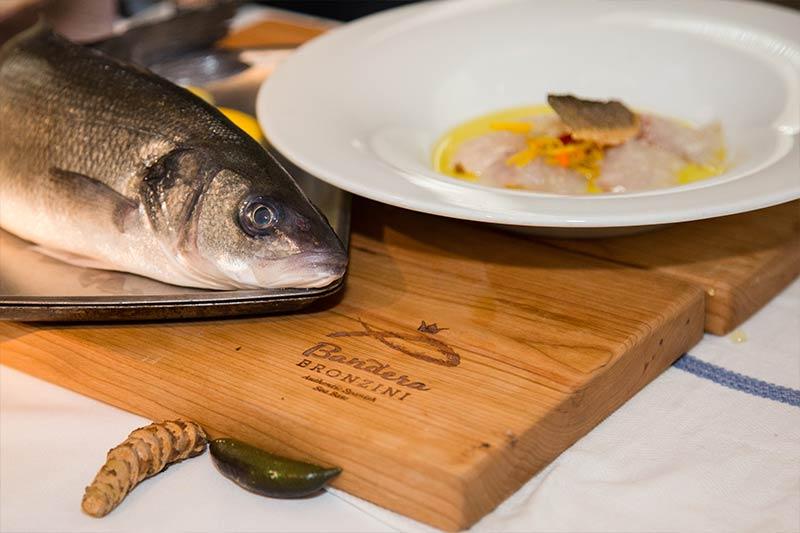 Preparing our Mediterranean Sea Bass Recipe